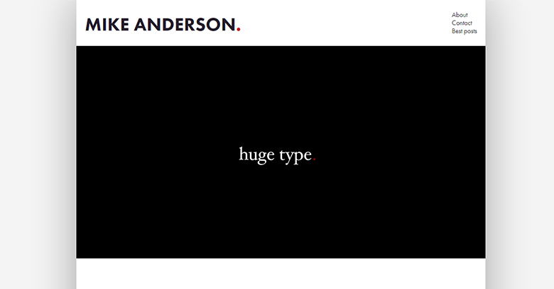 Mike Anderson